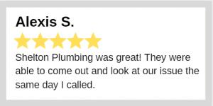 Shelton Plumbing review