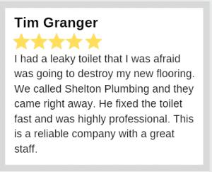 Review of Shelton Plumbing - Tim G. - be a plumber