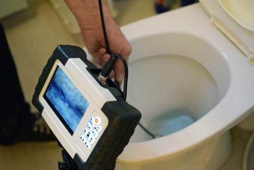 A plumber can check if you have high water pressure.