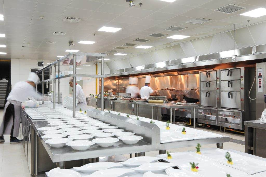 commercial kitchens have special commercial plumbing needs.