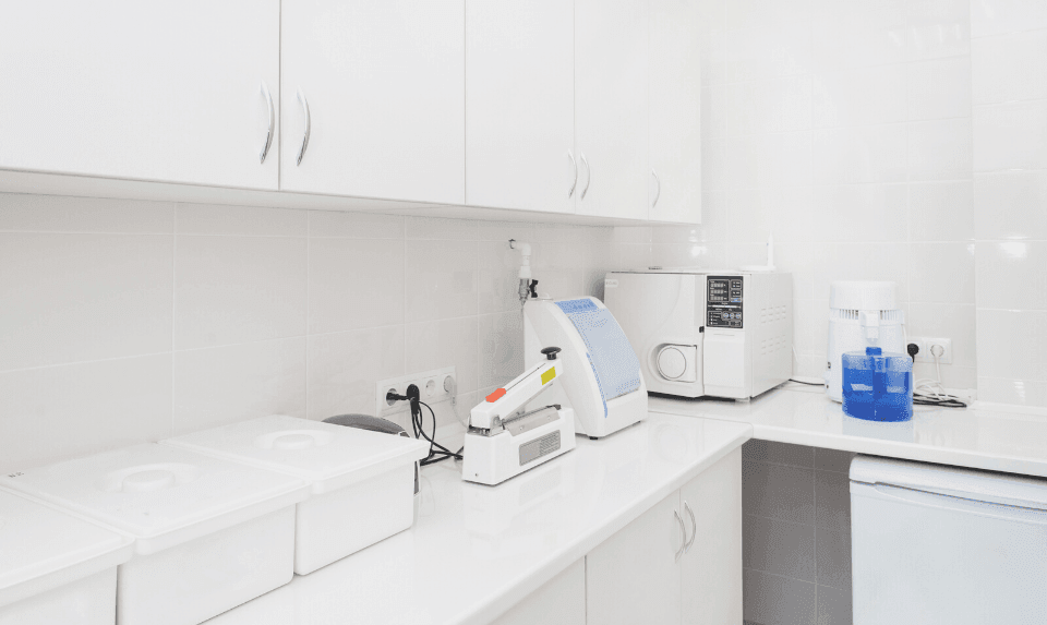 The hospital staff should be responsible in managing the laboratory in a hospital plumbing system.