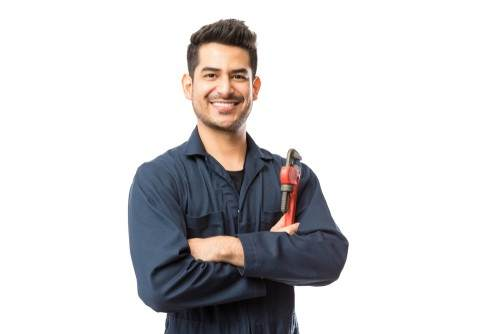 A licensed plumber is equipped to finish the job.
