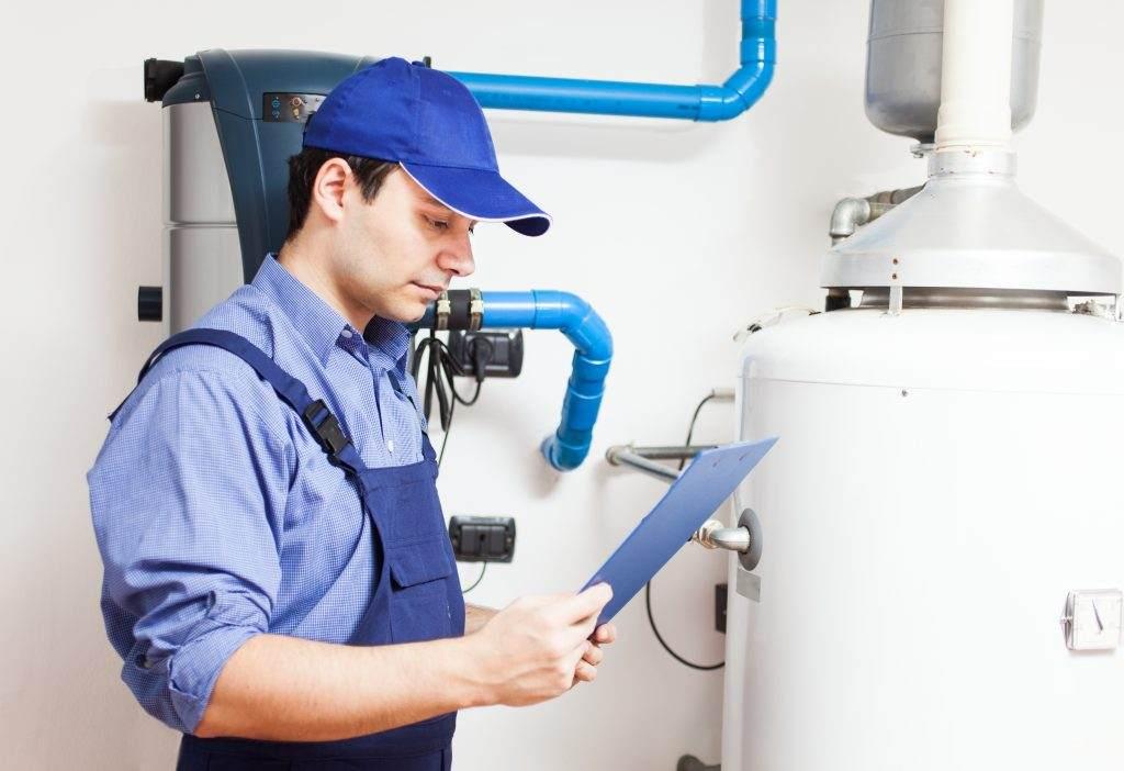 water heater repair man